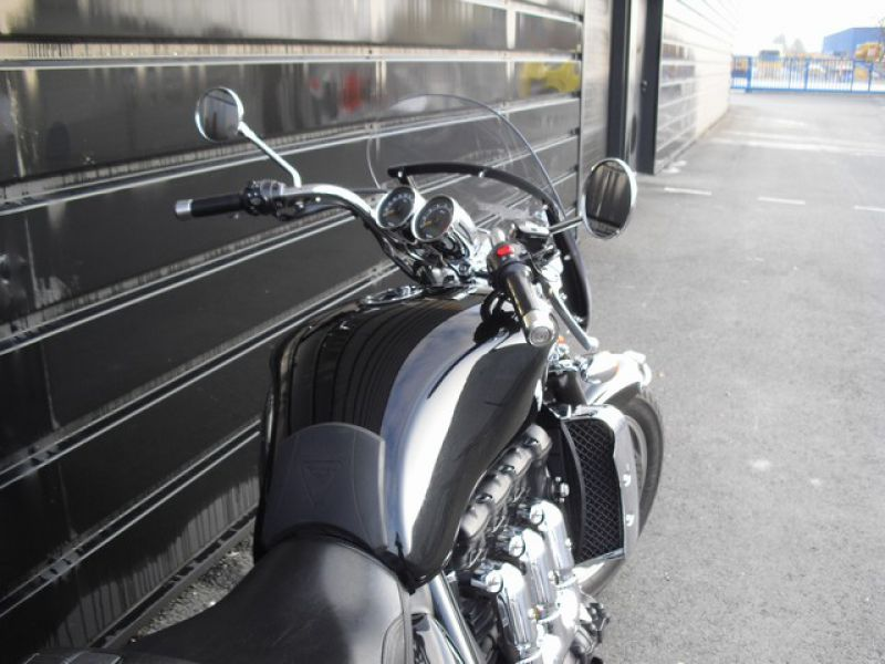 moto d occasion triumph rocket iii 2300 blois concession deletang. Black Bedroom Furniture Sets. Home Design Ideas